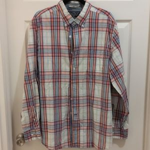 Men's Nautica Plaid Button Down